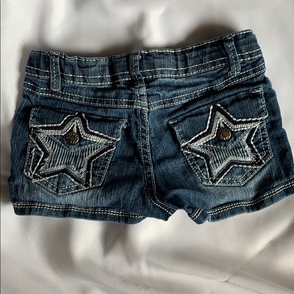 Z. Cavaricci Jean shorts size 6x